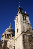 foto of rebuilt  - St Augustine With St Faith Church rebuilt in 1680 by Sir Christopher Wren stands just a few yards from St Paul - JPG