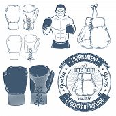 pic of boxing  - Boxing gloves - JPG