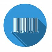 foto of barcode  - Isolated icon for UPCA barcode  - JPG