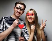stock photo of party hats  - people - JPG