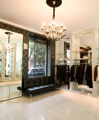 luxury boutique interior