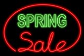 Spring Sale Neon