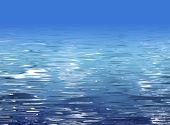 Abstract water texture - beach illustration