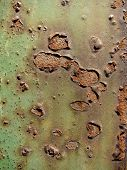 Old rusted metal