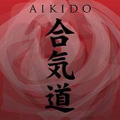 Aikido symbol-Path of harmony through the energy
