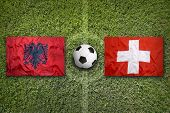 Постер, плакат: Albania Vs Switzerland Group A
