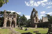 picture of hughes  - Dryburgh Abbey in Melrose area Scotland  - JPG