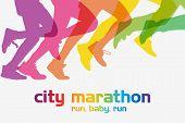 running poster