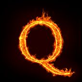 Fire Alphabets, Q
