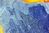 stock photo of lithosphere  - Closeup of a flagstone of shale for decoration . ** Note: Slight blurriness, best at smaller sizes - JPG