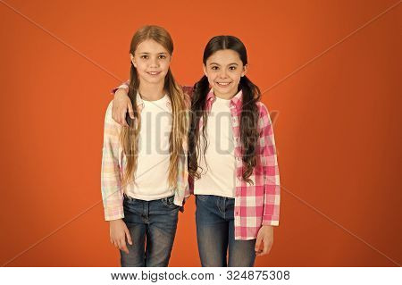 poster of Hair Care Tips And Professional Treatment. Long Hair Feminine Attribute. Girls Usually Let Their Hai