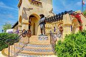 Spanish Architecture Of Mormons Historic Museum.