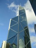 Architecture Bank Of China Tower poster