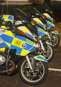 Police motorcycles