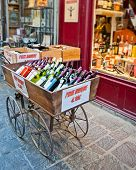 Wine Shop In Uzes France