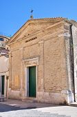 Church of St. Antonio Abate. Lucera. Puglia. Italy.