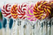 Colorful Lollipops, Candies And Sweets. Sweet Candy poster