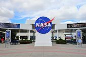 MERRITT ISLAND, FL - FEB 12: NASA in Kennedy Space Center on February 12, 2012 in Merritt Island, Fl