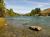 Clutha River, Otago, New Zealand