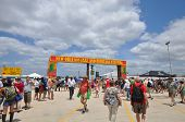 New Orleans Jazz Fest Entrance