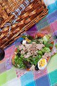 Salad With Tuna And Anchovies