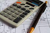 Calculator.  Microcalculator.  Calculator For Work.  Calculator To Calculate. poster