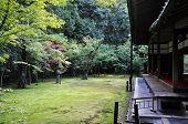 Japanese Garden In The Koto-in Temple- Kyoto, Japan