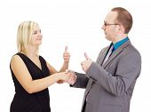 Handshake After A Good Interview