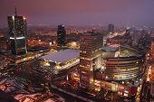 Warsaw's skyscrapers