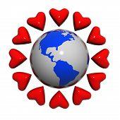 Corações perto da terra