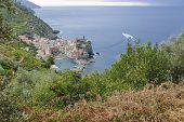 Vernazza, Italy and the Italian coastline