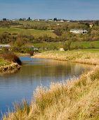 Somerset England the River Axe