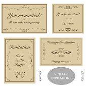 Vintage Invitations