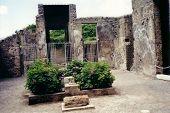 Pompeii House Atrium