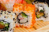 National Japanese Dish Sushi.