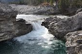 Waterfall Elbow River Alberta