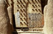 Entrance To The Mosque, Djenne, Mali