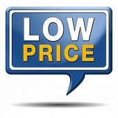 low price product promotion sales or bargain lowest prices best offer and reduction customer service
