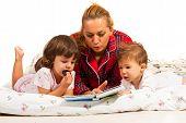Mom Reading Bedtime Story