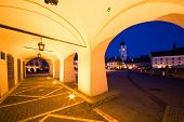 pic of mica  - Night view of the Small Square  - JPG