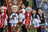 Dolls Dressed In Traditional Romanian Folk Costumes-1