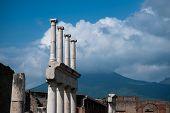 Pompeii Ruins - Forum Columns