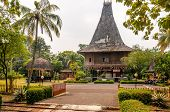 image of minangkabau  - Themappark with different traditional buildings  - JPG
