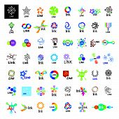 Biggest Collection Of Vector Icons Link Communication