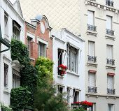 Paris Montmartre Typical Facade
