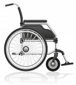 Wheelchair Vector Illustration