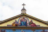 italy, rome, church of san paolo fuori le mura