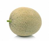 pic of ares  - Fresh  ripe melon isolated  on white background - JPG