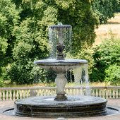 Fountain From The 18Th Century In Potsdam, Brandenburg, Germany