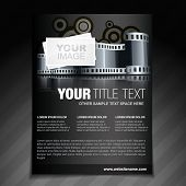 vector photography flyer brochure poster and magazine cover